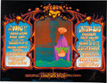 Music Memorabilia:Posters, Grateful Dead/The Who Large Fillmore West Concert Poster BG-133Signed By Alton Kelley (Bill Graham, 1968)....