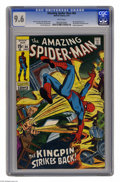 Bronze Age (1970-1979):Superhero, The Amazing Spider-Man #84 (Marvel, 1970) CGC NM+ 9.6 White pages. The Schemer harbors a grudge against the Kingpin, but why...