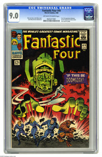 Fantastic Four #49 (Marvel, 1966) CGC VF/NM 9.0 Off-white to white pages. While this is the second installment of what's...