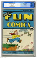 Golden Age (1938-1955):Miscellaneous, More Fun Comics #12 Lost Valley pedigree (DC, 1936) CGC FN/VF 7.0 Off-white pages. Vincent Sullivan, Joe Shuster, Leo O'Meal...