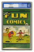 Platinum Age (1897-1937):Miscellaneous, More Fun Comics #15 Lost Valley pedigree (DC, 1936) CGC VG/FN 5.0Cream to off-white pages. This was the second installment ...