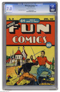 Golden Age (1938-1955):Miscellaneous, More Fun Comics #42 (DC, 1939) CGC FN/VF 7.0 Cream to off-white pages. In our book, Creig Flessel ranks among the best cover...