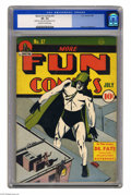Golden Age (1938-1955):Superhero, More Fun Comics #57 (DC, 1940) CGC VF- 7.5 Off-white to white pages. Putting together a complete run of More Fun would b...