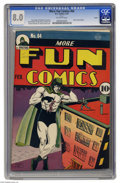 Golden Age (1938-1955):Superhero, More Fun Comics #64 Larson pedigree (DC, 1941) CGC VF 8.0 Off-white pages. The Spectre was for all intents and purposes omni...
