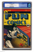 Golden Age (1938-1955):Superhero, More Fun Comics #66 Larson pedigree (DC, 1941) CGC VF+ 8.5 Off-white to white pages. The Spectre is one powerful fellow, as ...