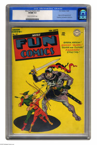 More Fun Comics #101 (DC, 1945) CGC VF/NM 9.0 Cream to off-white pages. The first appearance of Superboy makes this a DC...