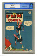Golden Age (1938-1955):Superhero, More Fun Comics #102 (DC, 1945) CGC NM- 9.2 Off-white to white pages. Superboy fans take note: this is the character's secon...