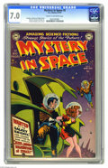 Golden Age (1938-1955):Science Fiction, Mystery in Space #2 (DC, 1951) CGC FN/VF 7.0 Cream to off-whitepages. For the second issue of the title, Carmine Infantino ...