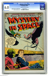 Mystery in Space #7 (DC, 1952) CGC FN 6.0 Cream to off-white pages. Early issue of the title impresses with a Gil Kane c...