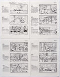 """Original Comic Art:Miscellaneous, Dan Fraga """"Untitled (How Could This Happen To Me?)"""" by Simple PlanMusic Video Storyboards Original Art Group of 16 (2005).... (Total:16 Original Art)"""