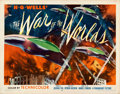 Movie Posters:Science Fiction, The War of the Worlds (Paramount, 1953). Half Shee...
