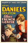 "Movie Posters:Crime, Alias French Gertie (RKO, 1930). One Sheet (27"" X 41"").. ..."
