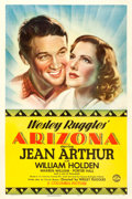"Movie Posters:Western, Arizona (Columbia, 1940). One Sheet (27"" X 41"") Style B.. ..."