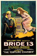 """Movie Posters:Serial, Bride 13 (Fox, 1920). One Sheet (28.5"""" X 40.75"""") Episode 5 -- """"TheTorture Chamber."""". ..."""