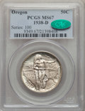 Commemorative Silver, 1938-D 50C Oregon MS67 PCGS. CAC. NGC Census: (249/25). PCGSPopulation: (283/42). CDN: $470 Whsle. Bid for problem-free NG...
