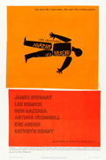 "Movie Posters:Drama, Anatomy of a Murder (Columbia, 1959). One Sheet (27"" X 41"") Saul Bass Artwork.. ..."
