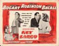 "Movie Posters:Film Noir, Key Largo (Warner Brothers, 1948). Half Sheet (22"" X 28"") Style A....."