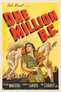 Movie Posters:Fantasy, One Million B.C. (United Artists, 1940). One Sheet...