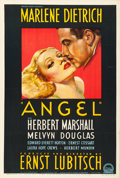 "Movie Posters:Drama, Angel (Paramount, 1937). Australian One Sheet (27"" X 40"") Hans Flato Artwork.. ..."