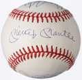 Autographs:Baseballs, 50-Home Run Season Club Multi-Signed Baseball (6 Signatures).. ...