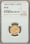 South Africa, South Africa: Republic gold 1/2 Pond 1895 XF45 NGC,...