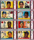 Baseball Cards:Lots, 1955 Topps Baseball Shoe Box Collection (450+). ...