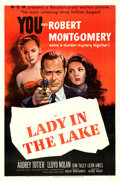 """Movie Posters:Film Noir, Lady in the Lake (MGM, 1947). One Sheet (27"""" X 41"""").. ..."""