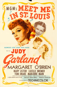 """Meet Me in St. Louis (MGM, 1944). One Sheet (27"""" X 41"""")"""