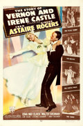 "Movie Posters:Musical, The Story of Vernon and Irene Castle (RKO, 1939). One Sheet (27"" X41"") Style B.. ..."