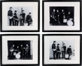 Music Memorabilia:Photos, Beatles Lot of Four Photographs Taken by Albert Marrion, December 17, 1961 at Their First Professional Photography Session.... (Total: 4 Items)