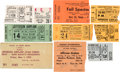 Music Memorabilia:Tickets, Jefferson Airplane Lot of Ten Concert Tickets (1966-1970)....(Total: 10 )