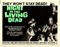 "Movie Posters:Horror, Night of the Living Dead (Continental, 1968). Half Sheet (22"" X28"").. ..."