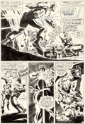 Original Comic Art:Panel Pages, Gene Colan and Jack Abel (as Gary Michaels) Tales of Suspense #78 Story Page 10 Iron Man Original Art (Marvel, 196...