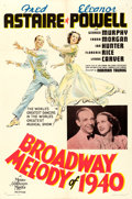 """Movie Posters:Musical, Broadway Melody of 1940 (MGM, 1940). One Sheet (27"""" X 41"""") Style C,Ted """"Vincentini"""" Ireland Artwork.. ..."""