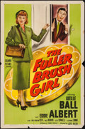 """Movie Posters:Comedy, The Fuller Brush Girl (Columbia, 1950). Folded, Overall: Fine+. OneSheets (3) Identical (27"""" X 41""""). Comedy.. ... (Total: 3 Items)"""
