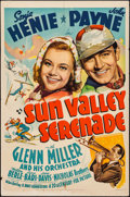 "Movie Posters:Musical, Sun Valley Serenade (20th Century Fox, 1941). One Sheet (27"" X 41"")Style B. Musical.. ..."