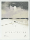 "Movie Posters:Science Fiction, Interstellar (Paramount, 2014). IMAX Posters (2) (12"" X 16"") FarmStyle. Kevin Dart Artwork. Science Fiction.. ... (Total: 2 Items)"