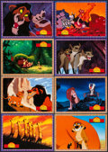 """Movie Posters:Animation, The Lion King (Buena Vista, 1994). Program (26 Pages, 13"""" X 11"""")& German Lobby Cards (24) (12"""" X 8.25""""). Animation.. ...(Total: 25 Items)"""