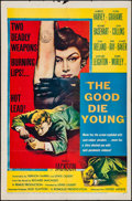 "Movie Posters:Crime, The Good Die Young (United Artists, 1955). One Sheet (27"" X 41"").Crime.. ..."