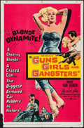 "Movie Posters:Crime, Guns, Girls and Gangsters (United Artists, 1959). One Sheet (27"" X41"") & Lobby Card Set of 8 (11"" X 14""). Crime.. ... (Total: 9Items)"
