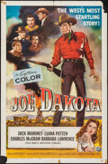 "Movie Posters:Western, Joe Dakota (Universal International, 1957). Folded, Fine+. One Sheet (27"" X 41""). Western.. ..."
