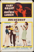 "Movie Posters:Comedy, Houseboat (Paramount, 1958). One Sheet (27"" X 41""). Comedy.. ..."