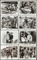 "Movie Posters:Serial, Overland Mail (Universal, R-1948). Photos (14) (8"" X 10""). Serial..... (Total: 14 Items)"