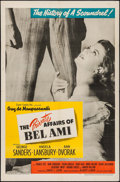 "Movie Posters:Drama, The Private Affairs of Bel Ami (United Artists, 1947). One Sheet(27"" X 41""). Drama.. ..."
