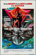 "Movie Posters:James Bond, The Spy Who Loved Me (United Artists, 1977). One Sheet (27"" X 41"")Bob Peak Artwork. James Bond.. ..."