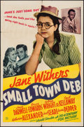 "Movie Posters:Comedy, Small Town Deb (20th Century Fox, 1942). One Sheet (27"" X 41"").Comedy.. ..."