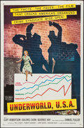 """Movie Posters:Film Noir, Underworld, U.S.A. & Others Lot (Columbia, 1960). One Sheets(2) (27"""" X 41""""). Film Noir.. ... (Total: 2 Items)"""