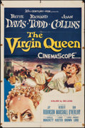 "Movie Posters:Drama, The Virgin Queen (20th Century Fox, 1955). One Sheet (27"" X 41"").Drama.. ..."