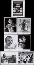 "Movie Posters:Science Fiction, Zardoz (20th Century Fox, 1974). Photos (16) (8"" X 10""). ScienceFiction.. ... (Total: 16 Items)"
