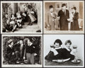 """Movie Posters:Comedy, A Chump at Oxford & Others Lot (United Artists, 1940). Photos(4) (Approximately 8"""" X 10""""). Comedy.. ... (Total: 4 Items)"""